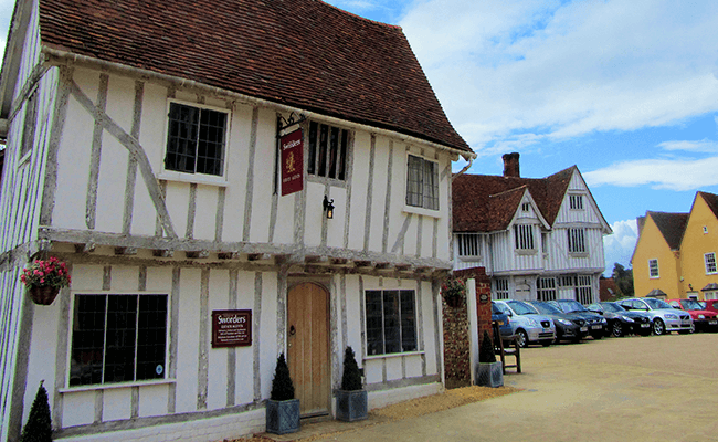 Tudor homes in Suffolk